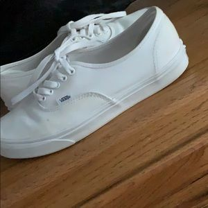 authentic white vans